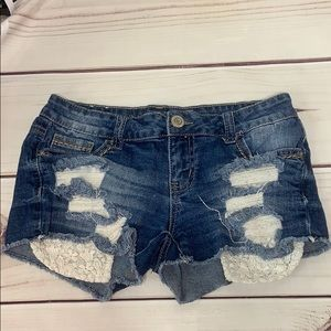 Vanilla Star • Jean Shorts